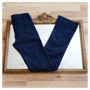 NEW Navy Blue HOLLISTER BOOT Pants Size 3/26